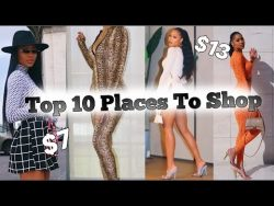 Top 10 Places to Shop Online 2020 | Affordable Trendy Clothes – YouTube