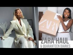 ZARA HAUL – Quarantine Vlog 1 – YouTube