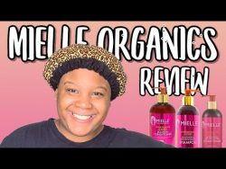 Mielle Organics Pomegranate and Honey Collection Review 🍯