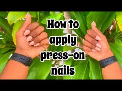 How to apply press-on nails