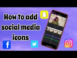 HOW TO ADD SOCIAL MEDIA ICONS TO YOUTUBE VIDEOS