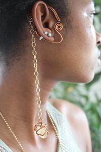 Citrine Ear Cuff by @alanzejewelsllc