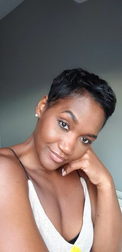 Short pixie haircut is my favorite hairstyle- relaxed hair