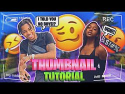 How to Make a Trendy Thumbnail Just Like the Popular YouTubers | Shay Renea