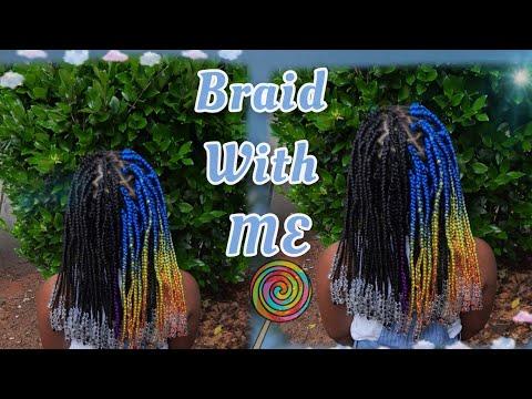 I triend Afri-Naptural Braiding hair ?
