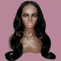 KOKO Plums Beauty 22″ bodywave custom wig