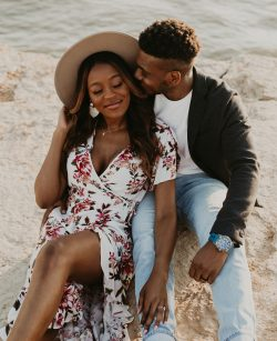 Black love is beautiful.