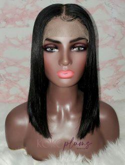KOKO Plums Beauty Custom 12″ 5×5 closure Wig