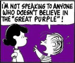 #purpleeverything