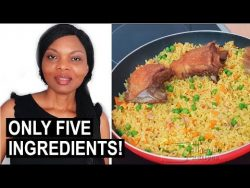 Cook with Me: 5-Ingredient Nigerian Fried Rice | Flo Chinyere – YouTube