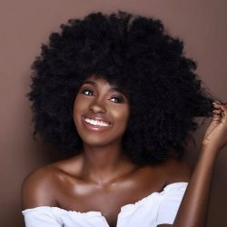 How luscious my fro gonna be in the future.