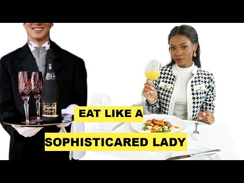 Dining Etiquette Every Classy Lady Should Follow! ( basic table manners) – YouTube