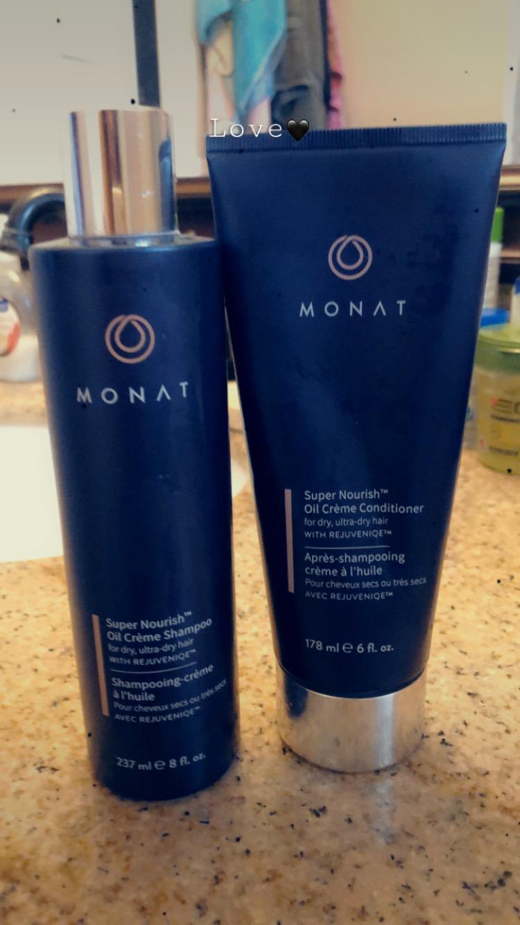 Monat Super Nourish for dry, ultra dry hair.