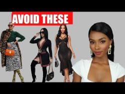 6 Fashion Mistake Elegant Ladies Always Avoid Making – YouTube