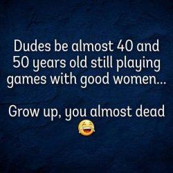Grow up, sir