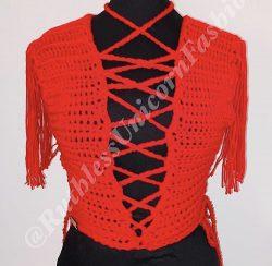 Candy crochet top