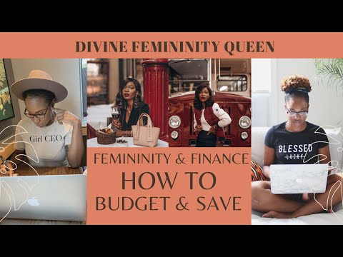 Femininity and Finance| How to Budget and Save for an Emergency| Femininity for dark skin – YouTube