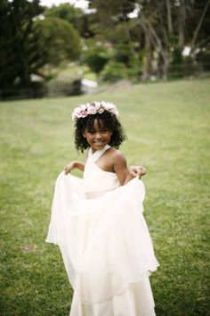 Flower Girl Fashion from Kirstie Kelly + Belathee Photography