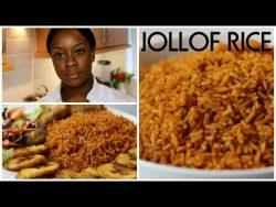 How To Cook Jollof Rice | Ivonne Ajayi – YouTube