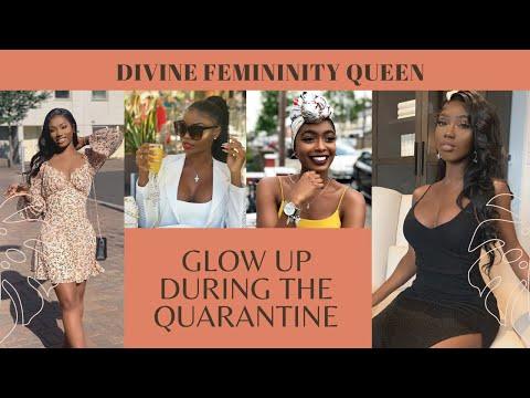 How to glow up during the quarantine| Femininity for dark skin – YouTube