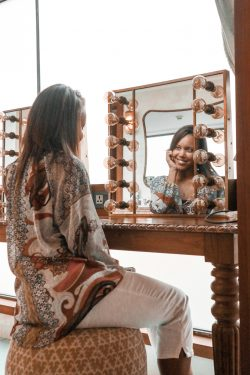 Say Your Morning Affirmations in the Mirror