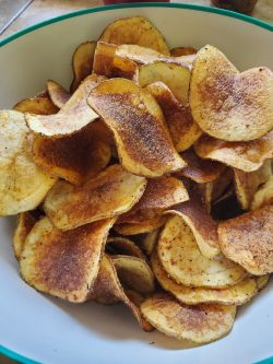Homemade Cannabis Tajin Chips