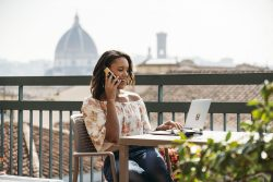 Digital Nomad in Florence, Italy | Brittany New