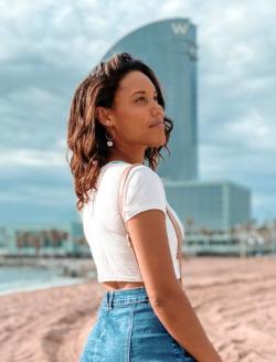 Barcelona Beach Photo Shoot | Brittany New