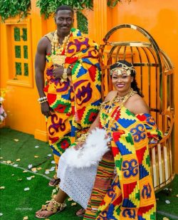 A beautiful Ghanaian couple.
