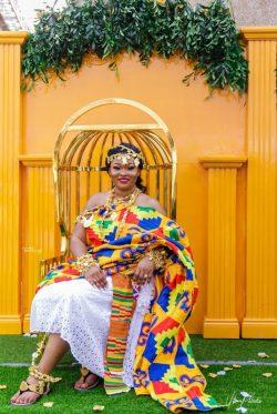 An african Queen.