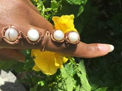 Fresh Water Pearl Ring by @alanzejewelsllc