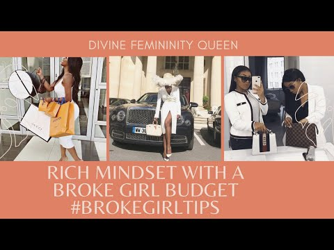 6 ways to live a luxury life on a budget| Rich mindset with a Broke Girl Budget – YouTube
