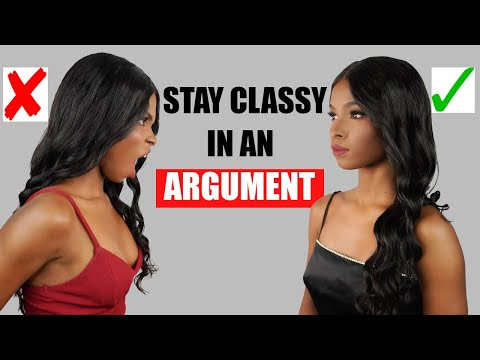5 Ways To Stay Classy and Feminine in an Argument – YouTube