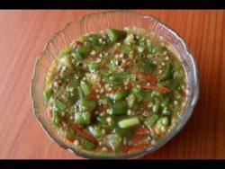Zambian Food |Delele (Okra) Recipe – YouTube