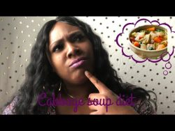 Cabbage Soup Diet| Did I lose weight?