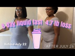 Liquid fast pt 2| protein shakes and chicken broth