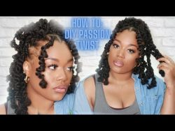 DIY Passion Twist by Tete Marie.