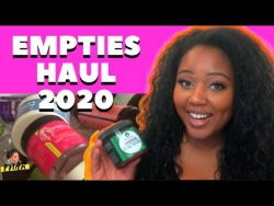 MY NATURAL HAIR PRODUCT EMPTIES | 2020 EDITION