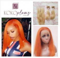 KOKO Plums Beauty Vietnamese 613 Hair Colored to Orange