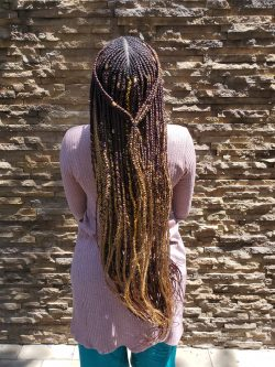 3 Layered Feed in braids