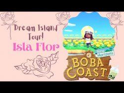 Animal Crossing New Horizons Dream Island Tour