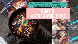 SIMY'S MICROWAVE MUG CAKE