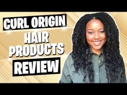My HAIR is BREAKING OFF!! | Curl Origin Hair Products Review