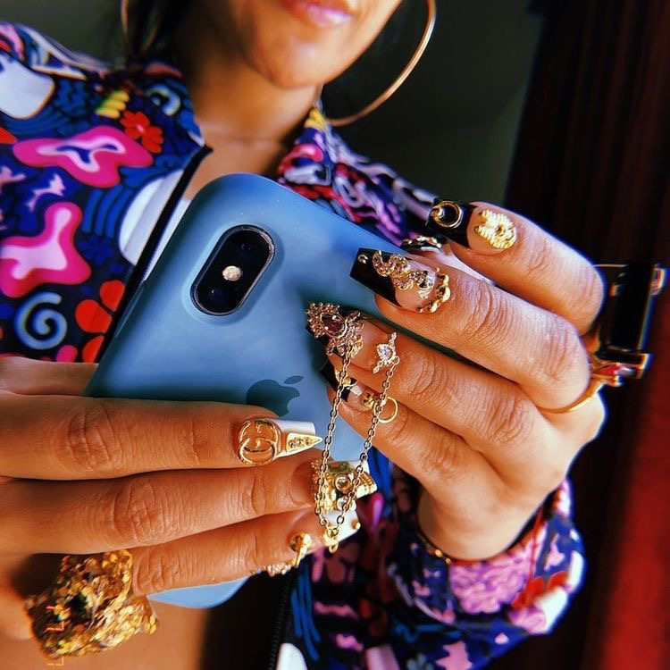 These nails are so flyy