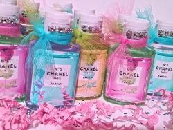 Designer Inspired Chanel Hand Sanitizer Gifts
