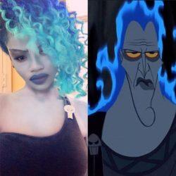 Hades costume – Disney Hercules cosplay – Hades makeup – closet cosplay – ...