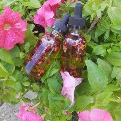 Rose Geranium hair/scalp oil