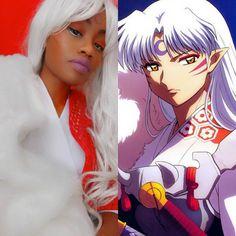 Sesshomaru cosplay – Inuyasha anime cosplay costume – Lord Sesshomaru – black  ...