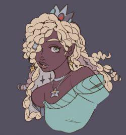 Rosalina,,, heart eyes