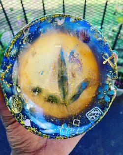 Resin ashtray